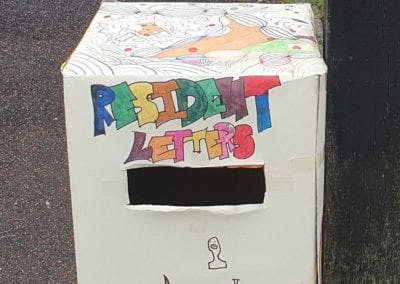 Residents Letter's Postbox