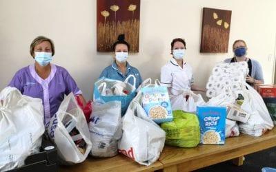 Holdingham Grange Donates to Local Food Bank