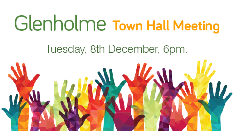 Glenholme Town Hall – Tuesday, 8th December