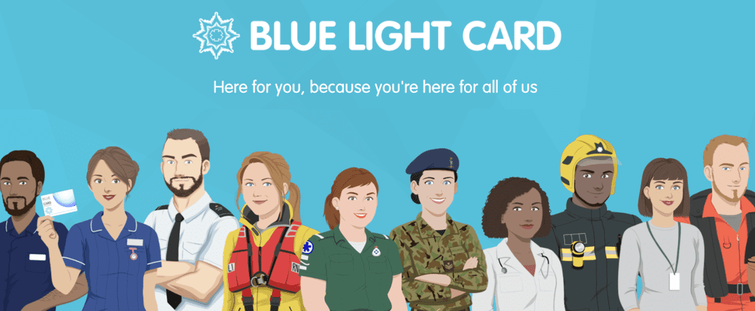 Have you got your Blue Light Card yet?