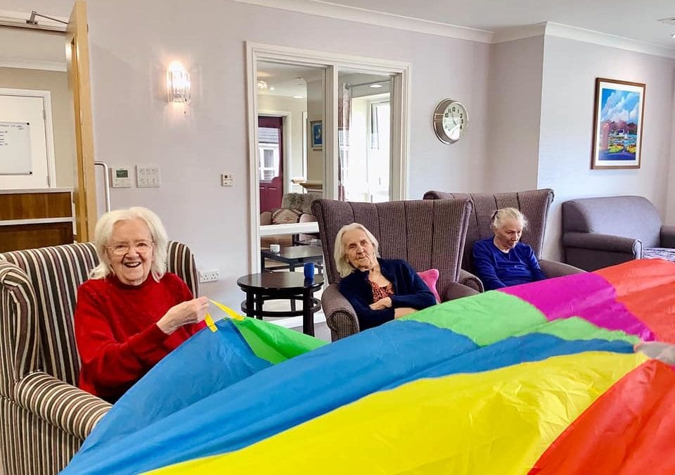 Parachute Games at Holdingham Grange